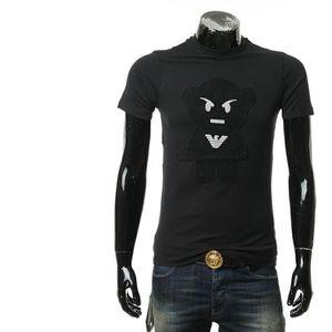 Emporio Armani 安普里奥·阿玛尼修身男休闲圆领短袖T恤