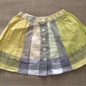 Burberry 博柏利小童格纹半身裙短裙