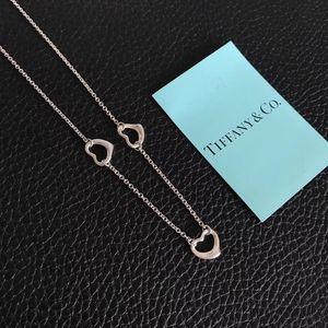 Tiffany & Co. 蒂芙尼女925银多爱心项链