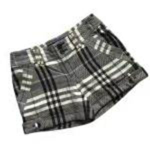Burberry 博柏利经典格子热裤短裤