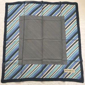 Yves Saint Laurent 伊夫·圣罗兰真丝丝巾