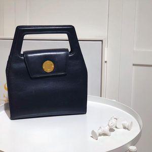GIVENCHY 纪梵希黑金牛奶盒子手提包