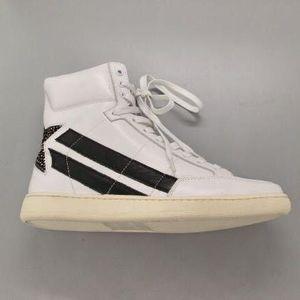 Yves Saint Laurent 伊夫·圣罗兰40码男中帮休闲板鞋