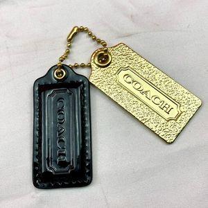 COACH  蔻驰金属真皮钥匙扣