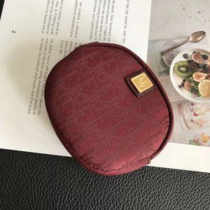 Dior 迪奥经典老花女小圆钥匙零钱袋