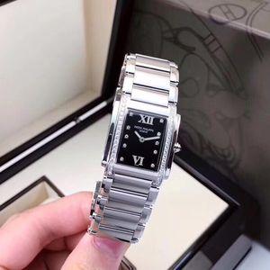 PATEK PHILIPPE 百达翡丽TWENTY-4系列4910精钢材质表壳镶嵌石英腕表