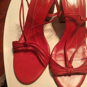 Kate Spade 凯特·丝蓓红色高跟鞋