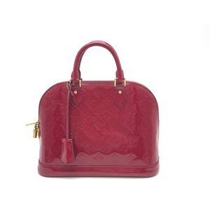 Louis Vuitton 路易·威登漆皮手提贝壳包