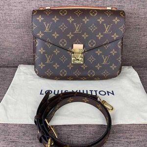 Louis Vuitton 路易·威登老花邮差单肩包