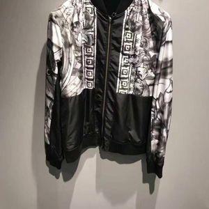 Versace 范思哲男士黑白双面外套
