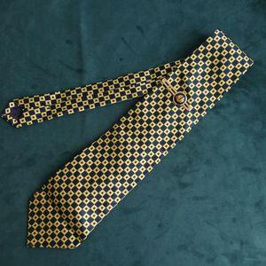 Yves Saint Laurent 伊夫·圣罗兰LD04012男士重磅真丝印花时尚领带