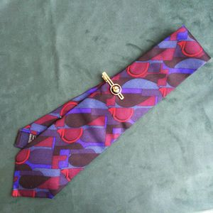 GUCCI 古驰LD05012男士重磅真丝印花时尚领带