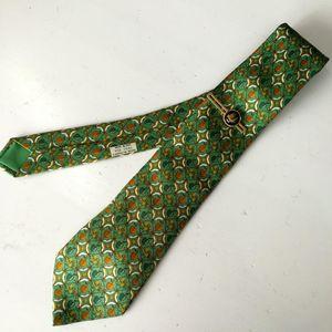 Hermès 爱马仕LD04020男士重磅真丝印花时装领带