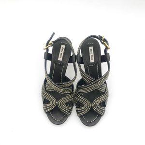 Miu Miu 缪缪凉鞋