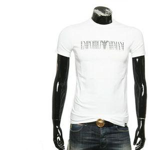 Emporio Armani 安普里奥·阿玛尼男士logo印花修身短袖T