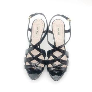 Miu Miu 缪缪女士凉鞋
