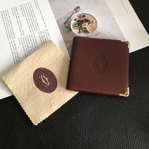 Cartier 卡地亚复古红短款钱包