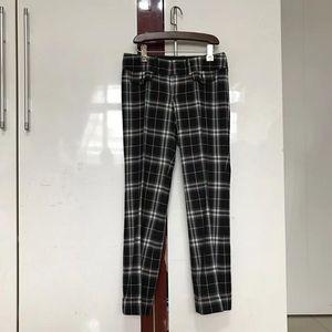 Burberry 博柏利经典格子纹西裤