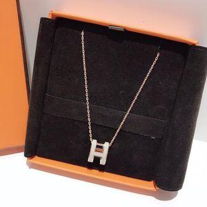 Hermès 爱马仕经典白银珐琅项链