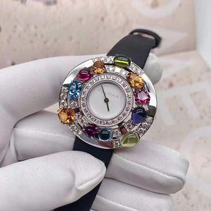 BVLGARI 宝格丽AEW36D1CWL高级奢华珠宝腕表系列石英表