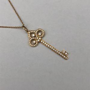 Tiffany & Co. 蒂芙尼玫瑰金钥匙项链