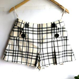 Burberry 博柏利YF04025米格子裙裤短裤