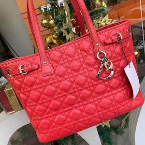 Dior 迪奥女款手提帆布购物袋