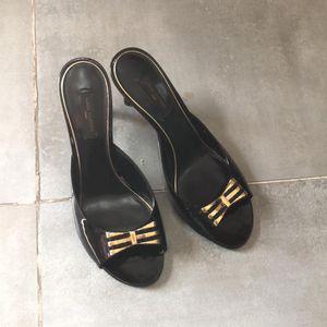 Louis Vuitton 路易·威登黑色高跟鞋