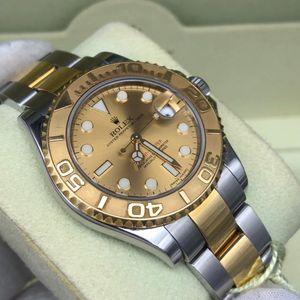Rolex 劳力士168623游艇名仕金色盘面机械表