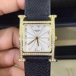 Hermès 爱马仕经典H hour系列石英腕表