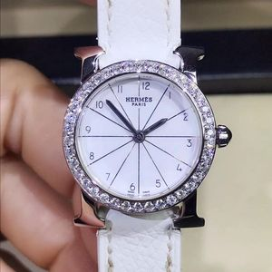 Hermès 爱马仕后镶钻石英女表