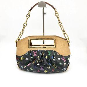 Louis Vuitton 路易·威登黑三彩女士手提单肩包
