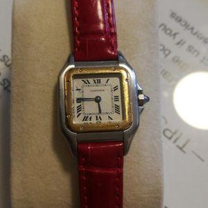 Cartier 卡地亚石英手表