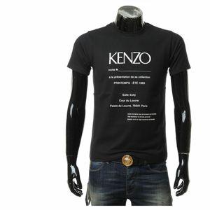 KENZO 高田贤三男士夏季字母修身圆领短袖T恤