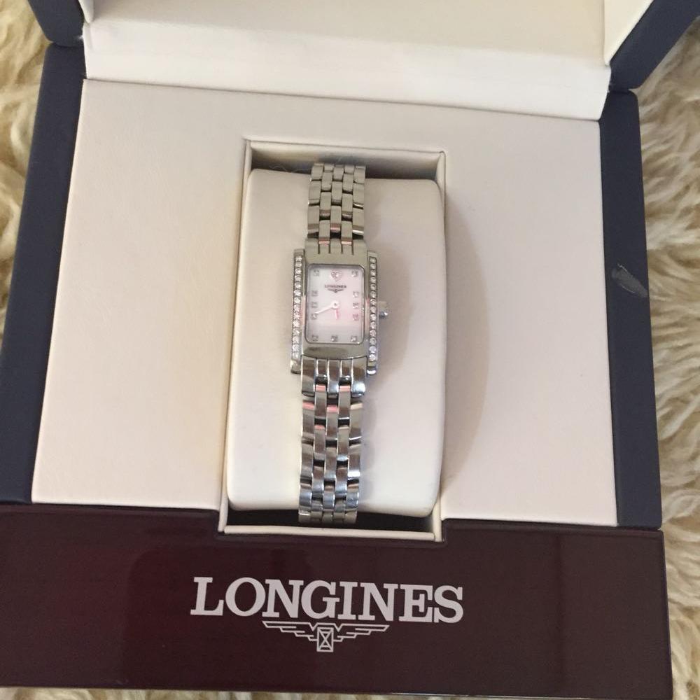 LONGINES浪琴优雅系列石英腕表