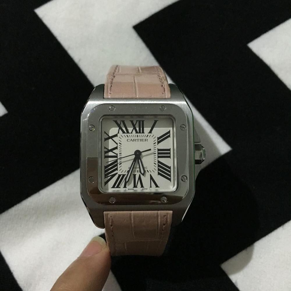 Cartier卡地亚桑托斯系列女士腕表