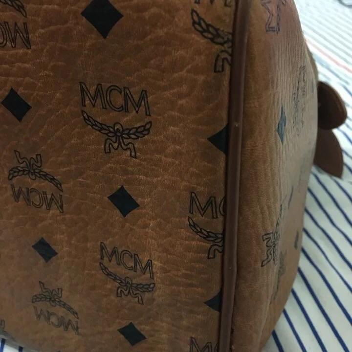 MCM波士顿手提包
