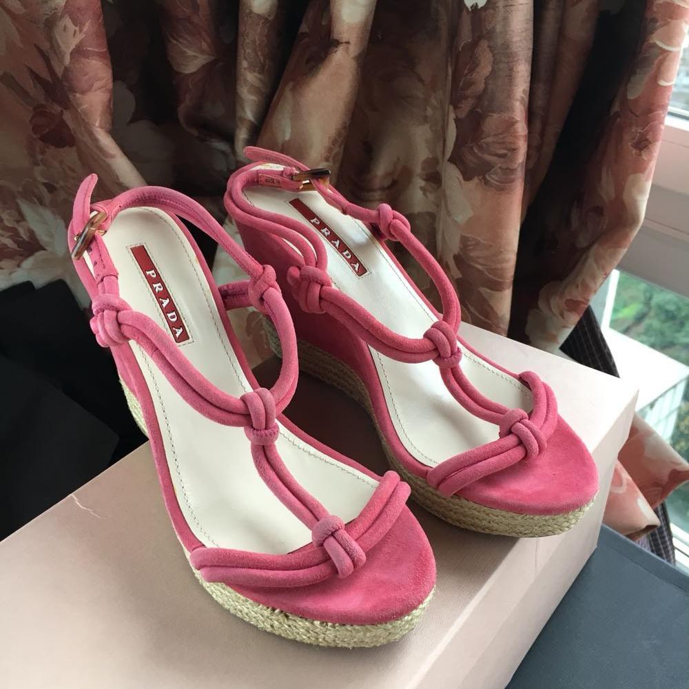 PRADA普拉达高跟鞋