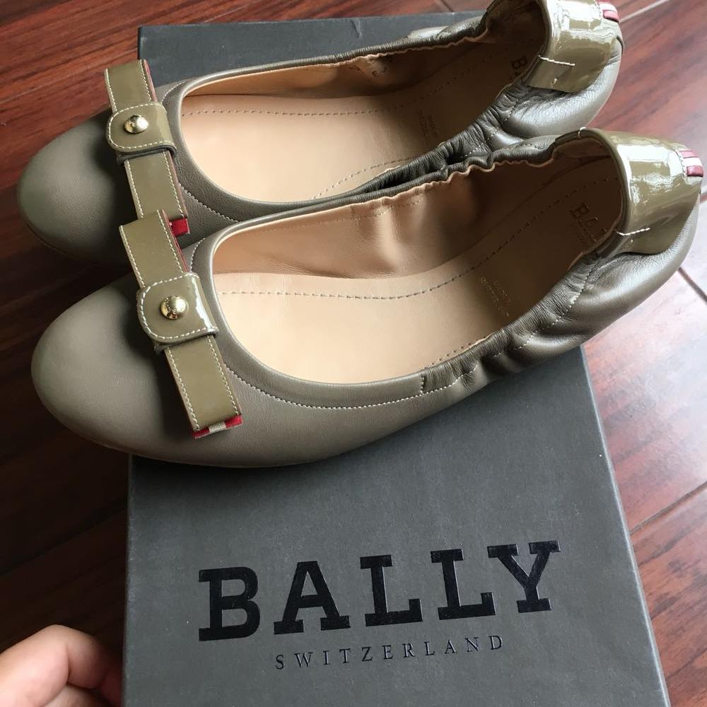 Bally巴利蝴蝶结女鞋