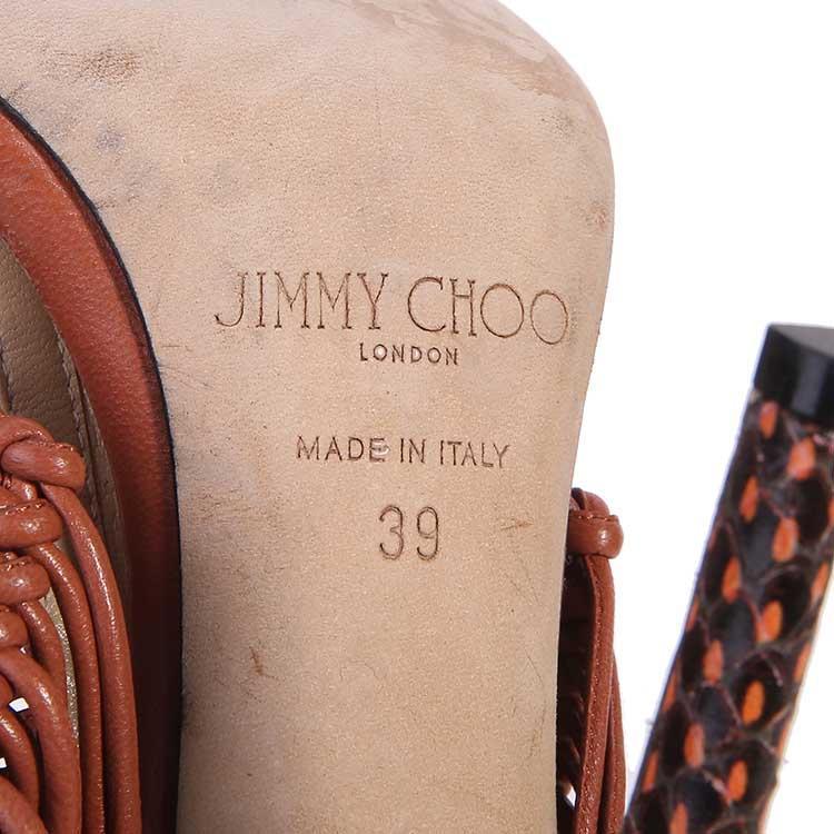 Jimmy Choo周仰杰红色高跟鞋
