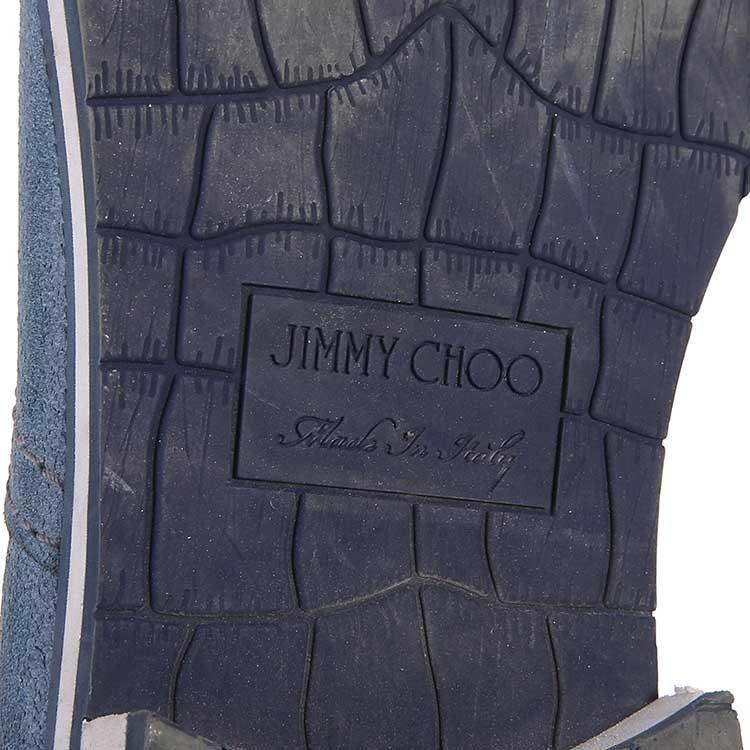 Jimmy Choo周仰杰蓝色休闲鞋