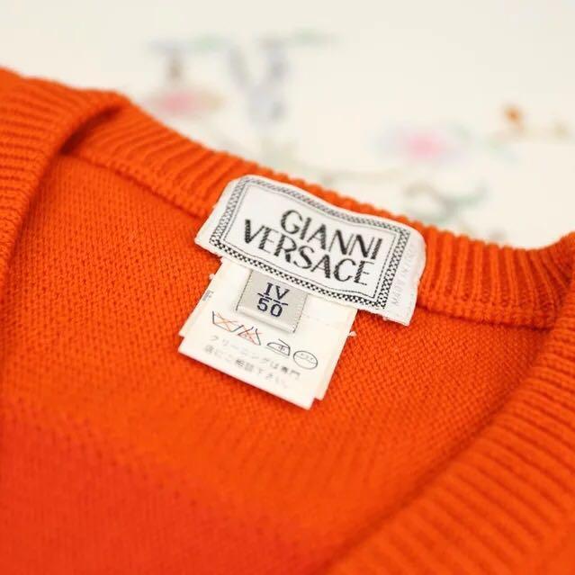 Versace范思哲渐变色针织衫