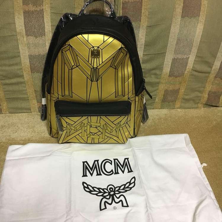 MCM双肩包