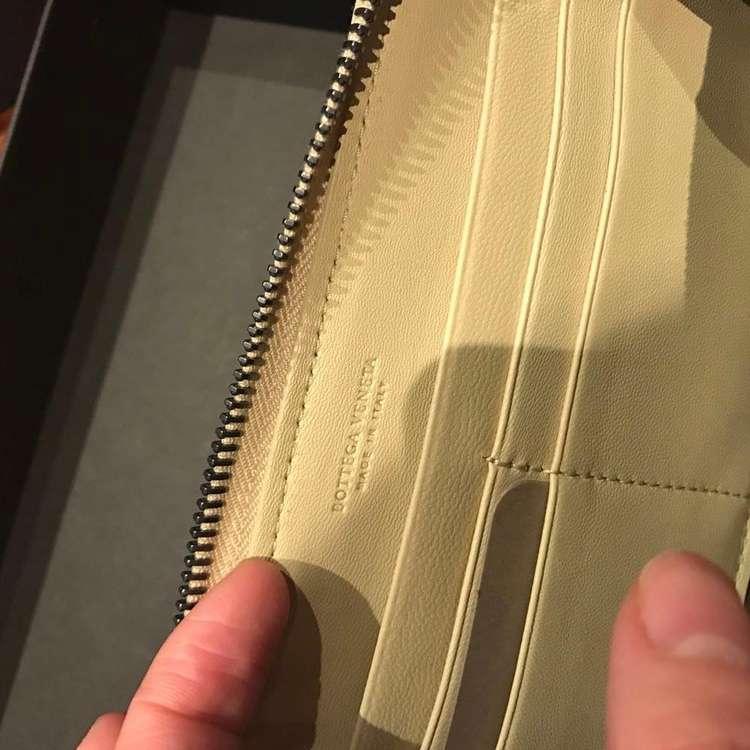 BV宝缇嘉嫩黄色钱包