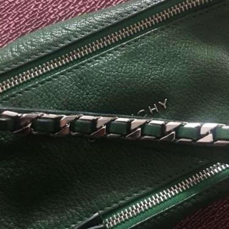 Givenchy纪梵希绿色潘多拉手包
