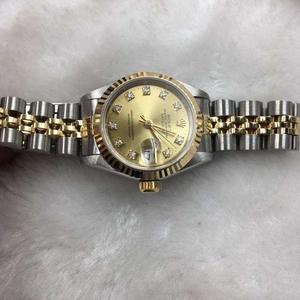 Rolex劳力士18k间金自动机械腕表