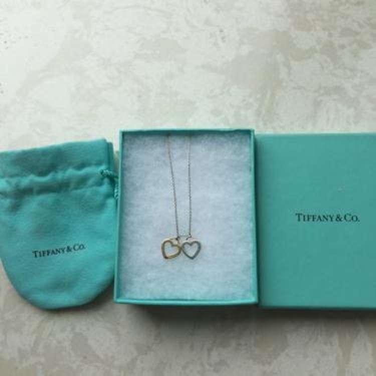 Tiffany蒂芙尼镂空18k金项链