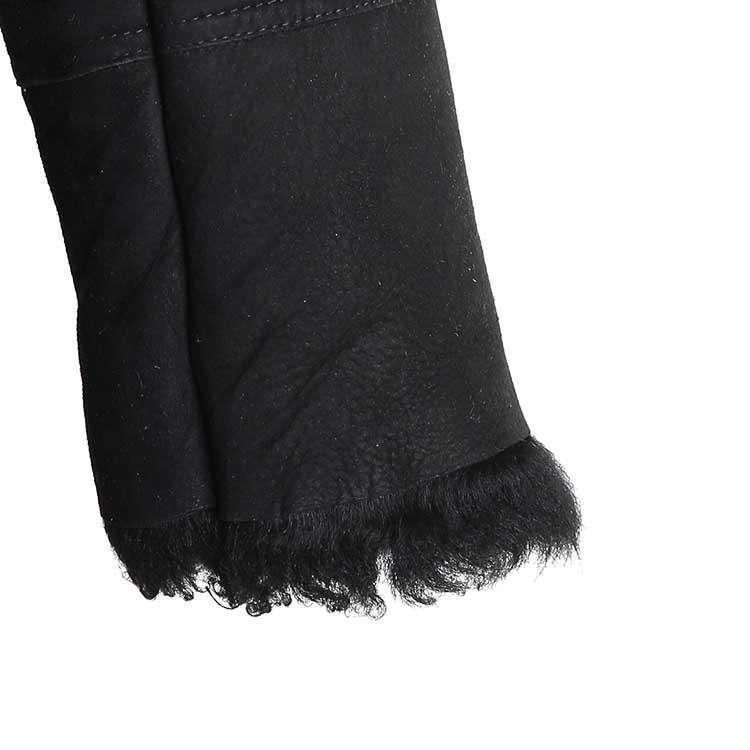 agnes.b黑色大衣