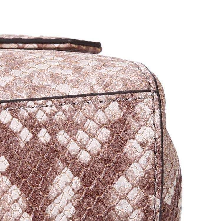 MK蛇纹手提包