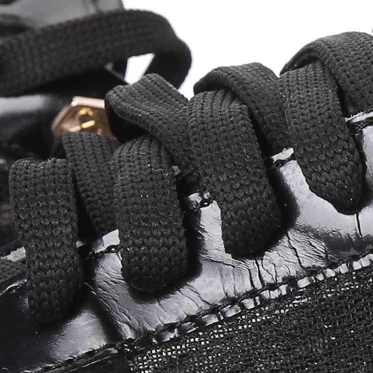 Philipp Plein黑色铆钉休闲鞋